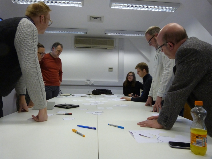 'Thinking Bee' workshop at The University of Sheffield.